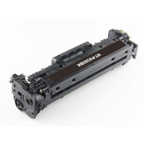 HP CE410A 305A CF380A 312A CC530A 304A utángyártott GR fekete toner CE410A-CF380A-GR