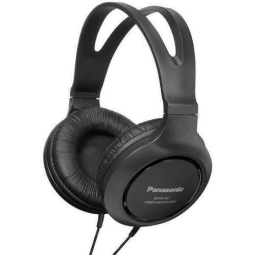 Panasonic RP-HT161E-K fekete fejhallgató. 33735