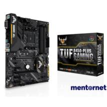 ASUS TUF B450-PLUS GAMING AMD B450 SocketAM4 ATX alaplap