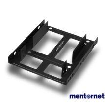 "Axagon RHD-225 3,5""-ről 2,5""-re fekete SSD / HDD beépítő keret"