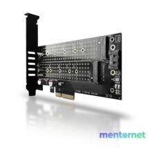 Axagon PCEM2-D PCI-Express - NVME+NGFF M.2 adapter