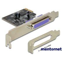 Delock 89219 PCI Express kártya > 1 x Párhuzamos