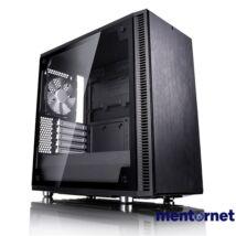 Fractal Design Define Mini C TG Fekete ablakos (Táp nélküli) mATX ház