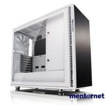 Fractal Design Define R6 USB-C TG Fehér ablakos (Táp nélküli) E-ATX ház