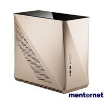 Fractal Design Era ITX Arany ablakos (Táp nélküli) mini-ITX ház