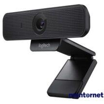 Logitech C925e 1080p mikrofonos fekete webkamera