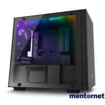 NZXT H200I Fekete (Táp nélküli) ablakos mini-ITX ház