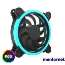 SilentiumPC 120mm Sigma HP 120 Corona RGB ház hűtőventilátor