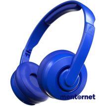 Skullcandy S5CSW-M712 Cassette Bluetooth kobaltkék mikrofonos fejhallgató