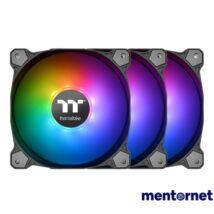 Thermaltake 120mm Pure Plus 12 RGB 3-pack ház hűtőventilátor