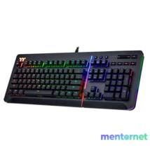 Ttesports Level 20 RGB (Cherry MX blue) US USB gamer billentyűzet