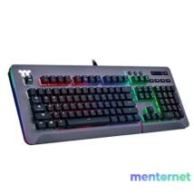 Ttesports Level 20 RGB Titanium (blue switch) US USB gamer billentyűzet