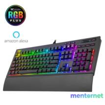 Ttesports Premium X1 (Cherry MX blue) RGB US USB  mechanikus gamer billentyűzet