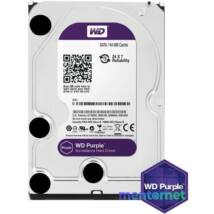 """Western Digital 3,5"""" 4000GB belső SATAIII 5400RPM 64MB PURPLE WD40PURZ winchester 3 év"""