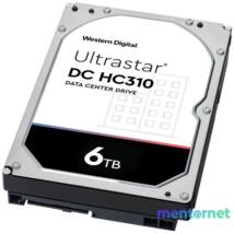 """Western Digital 3,5"""" 6000GB belső SATAIII 7200RPM 256MB Ultrastar DC HC310 HUS726T6TALE6L4 winchester"""