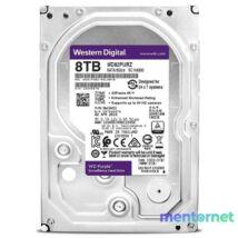 """Western Digital 3,5"""" 8000GB belső SATAIII 7200RPM 256MB PURPLE WD82PURZ winchester 3 év"""