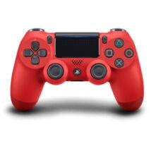 Dualshock 4 V2 kontroller, piros, eredeti PS719814153