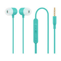 HE21B kék mikrofonos fülhallgató headset