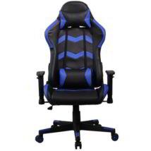 GCH203BK Gamer szék, fekete-kék