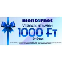 MentorNet Vásárlási utalvány 1.000 Ft értékben