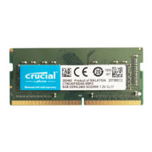 8GB, DDR4, 2400MHz, CL17, 1.2V notebook RAM (CT8G4SFD824A)
