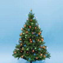 Home KII 200/M LED-es színes 16m-es karácsonyi fényfűzér