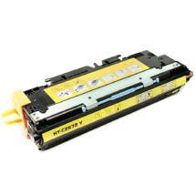 Q2672A 309A yellow utángyártott VI toner - CLJ3500 CLJ3550 CLJ3700 4.000 oldal
