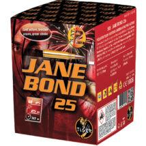 Jane Bond 25 tűzijáték telep