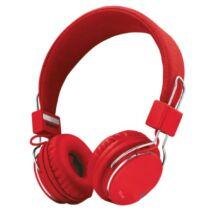 Urban Ziva (21822) piros mikrofonos vezetékes headset - fejhallgató