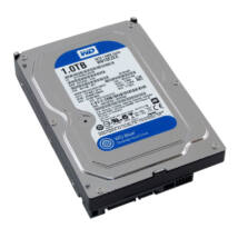 """1TB 3,5"""" S-ATA III 64MB, WD10EZEX Blue Caviar - HDD"""