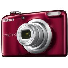 Coolpix A10 vörös - Digitális fényképezőgép
