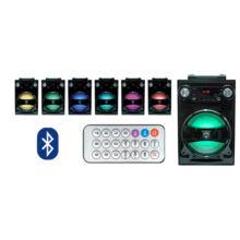 BT 1650 BT1650 akkumulátoros, bluetooth-os hordozható hangfal FM rádióval