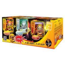 """Magic Box 3db-os tűzijáték telep csomag """"kettőt fizet hármat kap"""" akció"""
