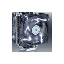 Venus CPU cooler 26dB; max. 153,42 m3/h; 4pin csatlakozó; 6 db heatpipe, 12cm, PWM