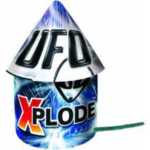 UFO - Space flyer röppentyű - 4db-os tűzijáték csomag