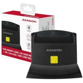CRE-SM2 USB 2.0 Smart / ID / SD / MicroSD / SIM kártyaolvasó/szig - bankkártya olvasó