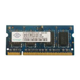 1GB, DDR2, 800MHz notebook memória (PC2-6400S-666, NT1GT64UH8D0FN-AD)