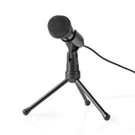 MICTJ100BK vezetékes mikrofon asztali állvánnyal