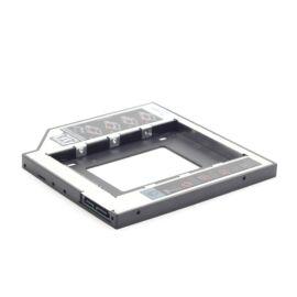 "MF-95-01 winchester/SSD 2,5""- os beépítő keret (12,7 mm) notebook ODD (DVD író) helyére"