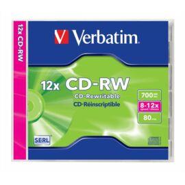 CD-RW lemez, 8-12x, 80 perc