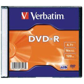 DVD-R lemez 16x slim tokban