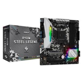 ASRock B450M STEEL LEGEND AMD B450 SocketAM4 mATX alaplap