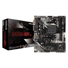 ASRock B450M-HDV R4.0 AMD B450 SocketAM4 mATX alaplap