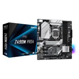 ASRock Z490M PRO4 Intel Z490 LGA1200 mATX alaplap