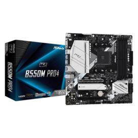 ASRock B550M PRO4 AMD B550 SocketAM4 mATX alaplap
