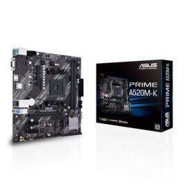 ASUS PRIME A520M-K AMD A520 SocketAM4 mATX alaplap
