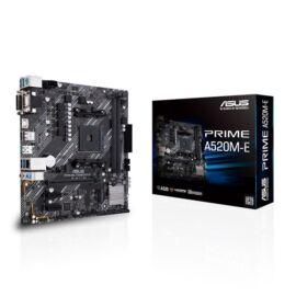 ASUS PRIME A520M-E AMD A520 SocketAM4 mATX alaplap