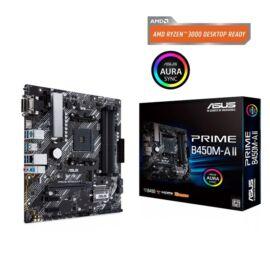 ASUS PRIME B450M-A II AMD B450 SocketAM4 mATX alaplap
