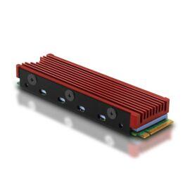 Axagon CLR-M2 alumínium passzív hűtő M.2 SSD-hez