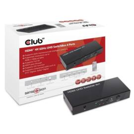 CLUB3D SenseVision HDMI 2.0 4 portos UHD Switchbox